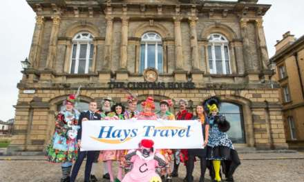 HAYS TRAVEL ON BOARD FOR ANOTHER PANTO JOURNEY