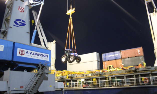 Antarctic Mission for North East England Logistics Terminal