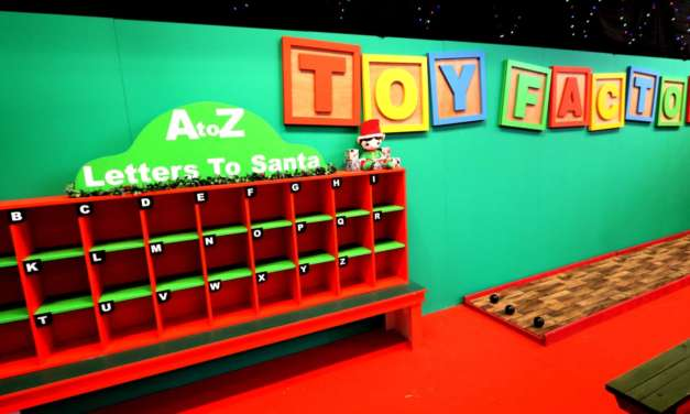 THE NORTH POLE COMES TO THE NORTH EAST AS SANTA'S TOY FACTORY OPENS AT TEESSIDE