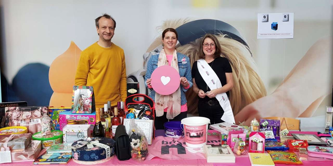 Energy employees Wear It Pink for charity