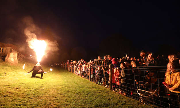 Quiet fireworks display proves a big hit at Kirkley Hall