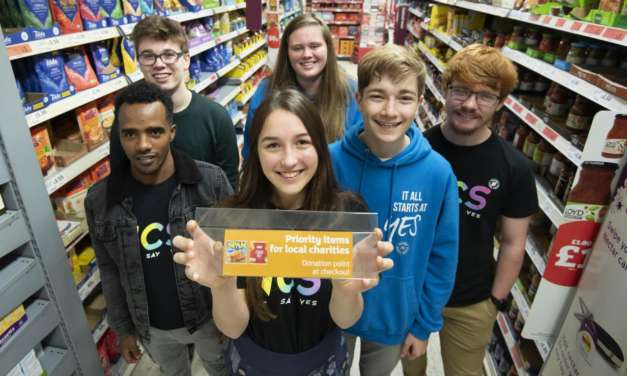 Teenagers' idea to increase foodbank donations will be rolled out in the North East