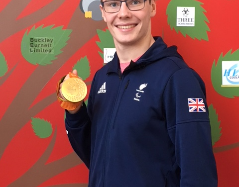 Paralympian Matt Wylie MBE announced as Grace House Patron