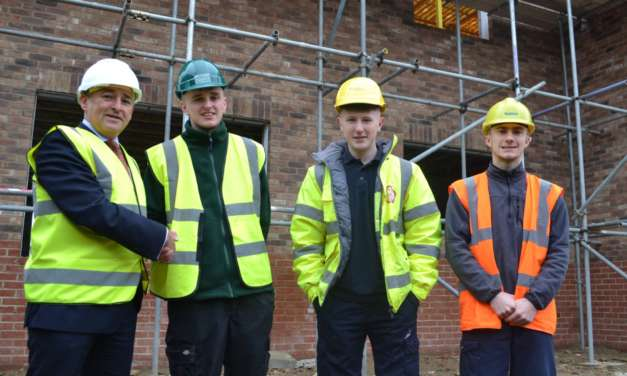 Construction Body award £60K Apprentice Bursaries