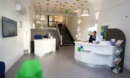 Doors Open At Newcastle Building Society's New Carlisle Branch