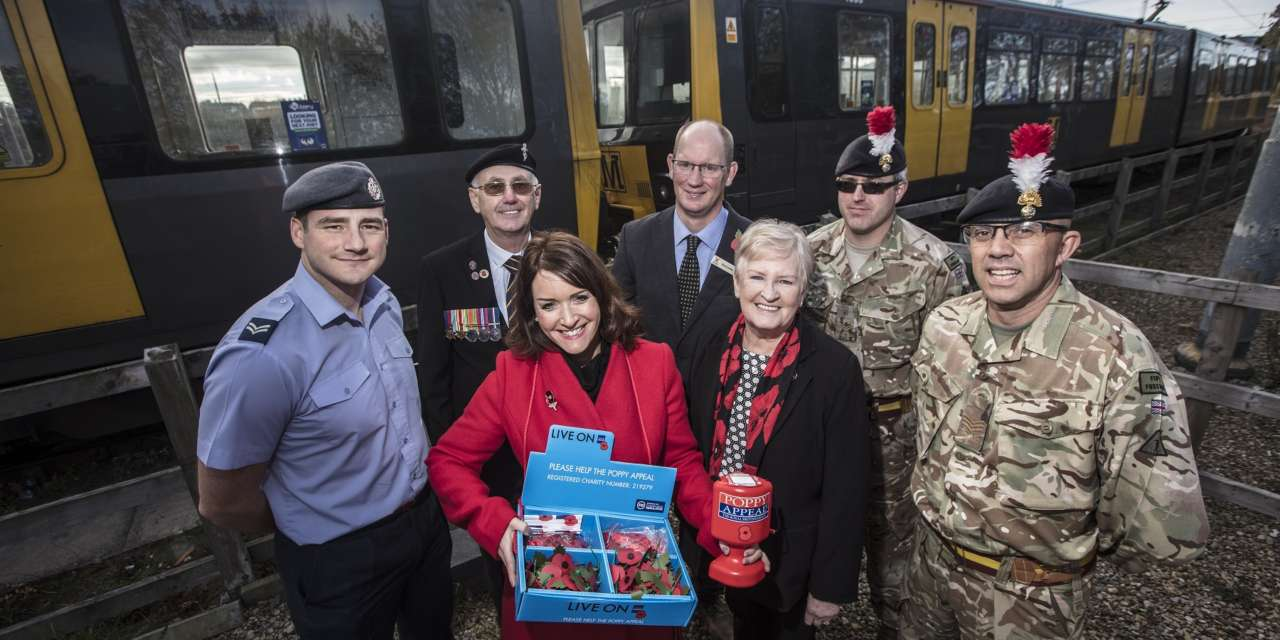 Free Metro travel for military personnel on Remembrance Sunday