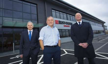 Coatings firm expands operations with new storage and distribution base after seeing sales rise