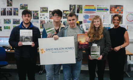 David Wilson Homes supports local construction students to become the next chapter of housebuilders