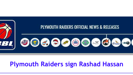 British Basketball League: Plymouth Raiders sign Rashad Hassan