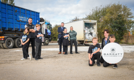 Barratt Homes helps local Seaside Savers turn the tide on plastic waste
