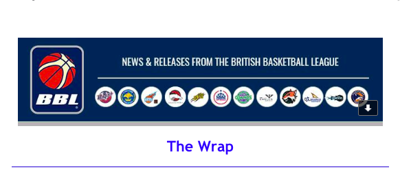 News from British Basketball League – The Wrap