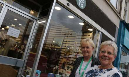 Hospice opens town centre pop-up shop