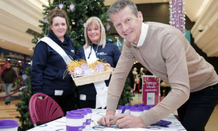 Steve Cram launches charity's festive fundraising campaign in Sunderland