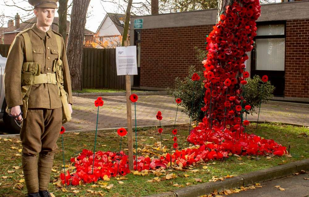 Students and staff use creative talents to mark WW1 centenary at The Northern School of Art