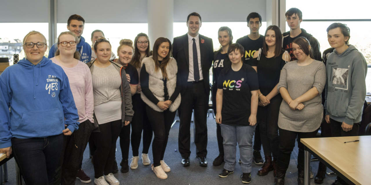 Local teenagers inspired by Tees Valley vision