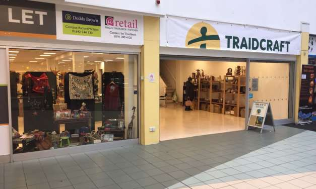 FAIRTRADE SHOP OPENS IN MIDDLESBROUGH TOWN CENTRE