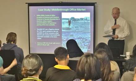 PLANNERS OF THE FUTURE VISIT MIDDLESBROUGH