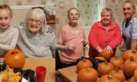 Dozens of jack-o'-lanterns created at care home pumpkin carving workshop