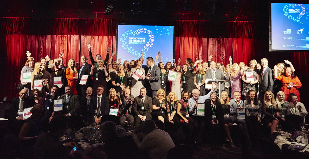 Creative healthcare stars honoured at the Bright Ideas in Health Awards