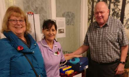 Dog supplies donated by Tyneside care home