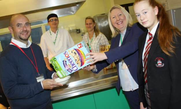 Academy provides students with food for thought
