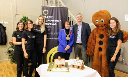 Local pupils celebrate victory in charity gingerbread competition