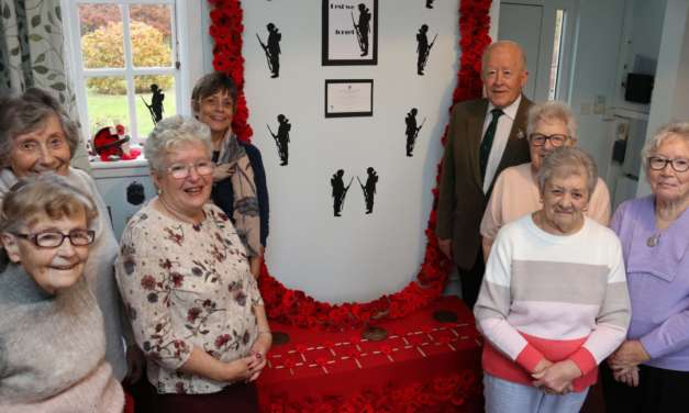 Crafters commemorate war dead in wool