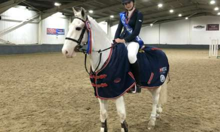 Bena jumps to success at national equestrian championship