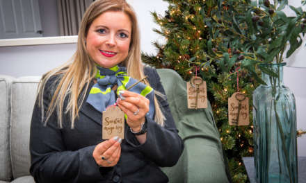 No chimney? No problem! Local housebuilder gives away 'magic keys' for children to help Santa visit this Christmas