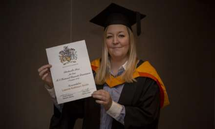 She's done it again – history graduate lands research prize
