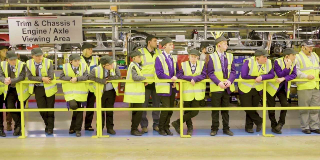 Young people experience the automotive world of work with Teesside charity and local businesses