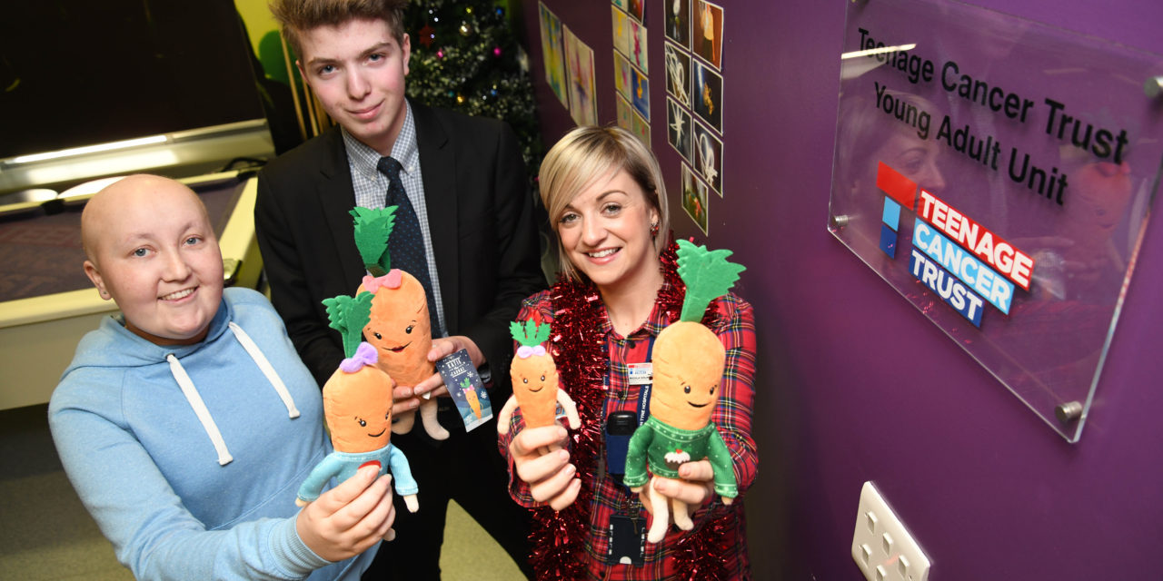 Aldi donates festive decorations to Teenage Cancer Trust
