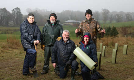 Mental health charity leads project to create natural flood defence at popular Northumberland golf course