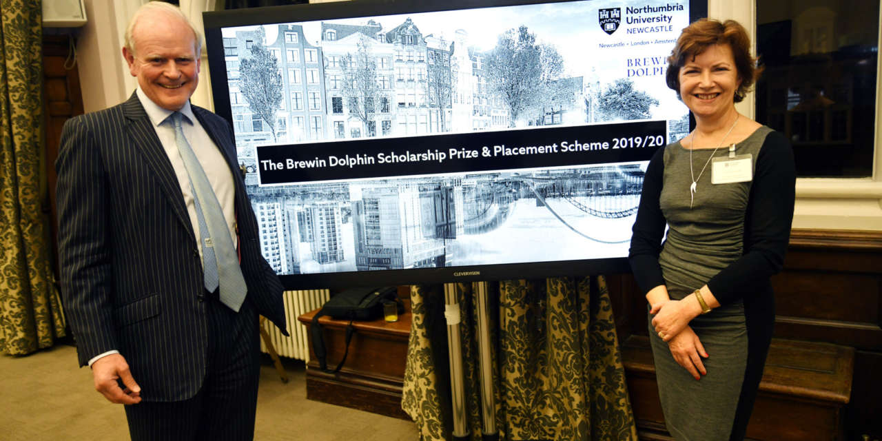 Northumbria students to benefit from Brewin Dolphin scholarship scheme