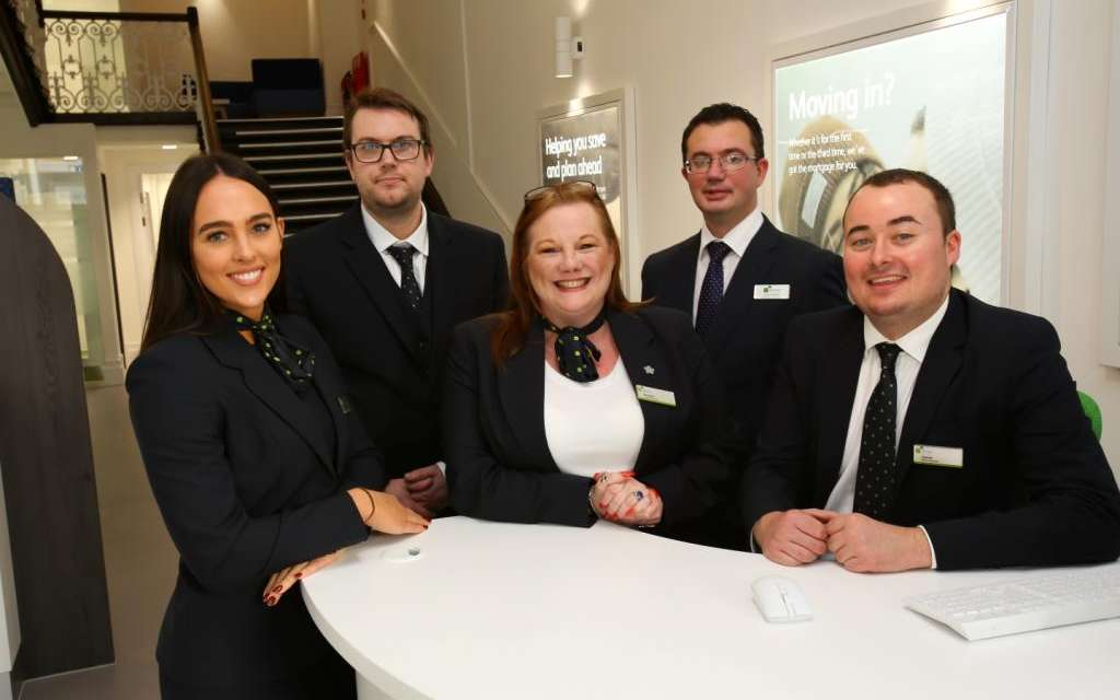 Christmas Celebrations To Mark Official Opening Of Newcastle Building Society's New Carlisle Branch