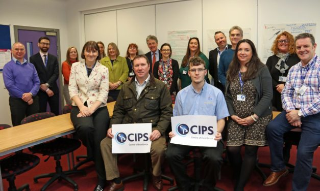 Darlington College recognised as Centre of Excellence by chartered institute