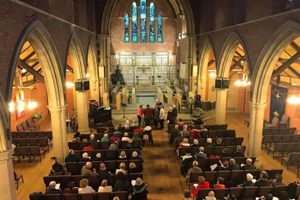 Dementia friendly carol service