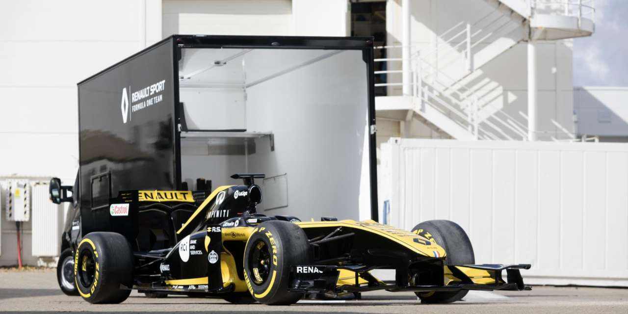 RENAULT MASTER CONVERSION SCORES POINTS WITH RENAULT SPORT FORMULA ONE™ TEAM