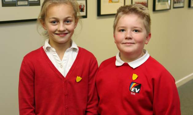 Grace and Daniel take top jobs as school launches leadership opportunities