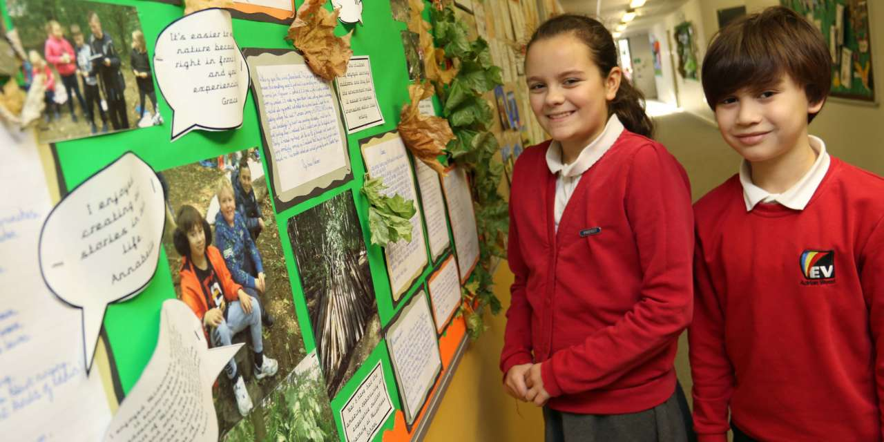 Learning outdoors is child's play for town children