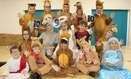 It's strictly Christmas at Hartlepool academy