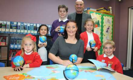 Northumberland housebuilder supports local school children