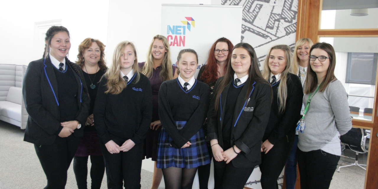Girls get a taste for careers in construction with NE1