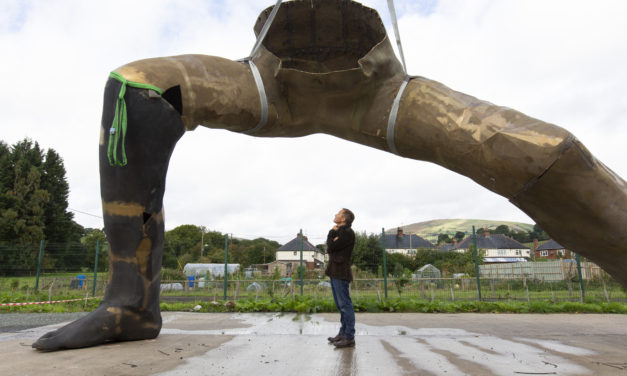 Newcastle based artist Joseph Hillier set to create the largest cast bronze sculpture in the UK
