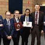 Winning business challenge is child's play for King's Academy students