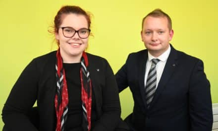 Vertu Motors welcomes first degree-level apprentice at head office