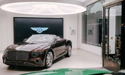 WORLD'S OLDEST BENTLEY SHOWROOM HOSTS ALL-NEW BENTLEY CONTINENTAL GT CONVERTIBLE