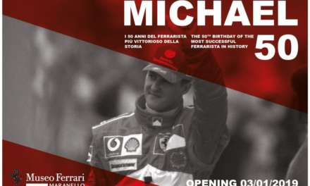 'MICHAEL 50', SCHUMACHER EXHIBITION TO OPEN AT FERRARI MUSEUM