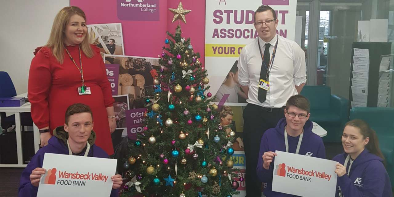 Northumberland College students weigh in with generous donations to food bank