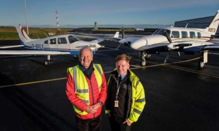 DUO LAUNCH NORTH EAST FLIGHT ACADEMY